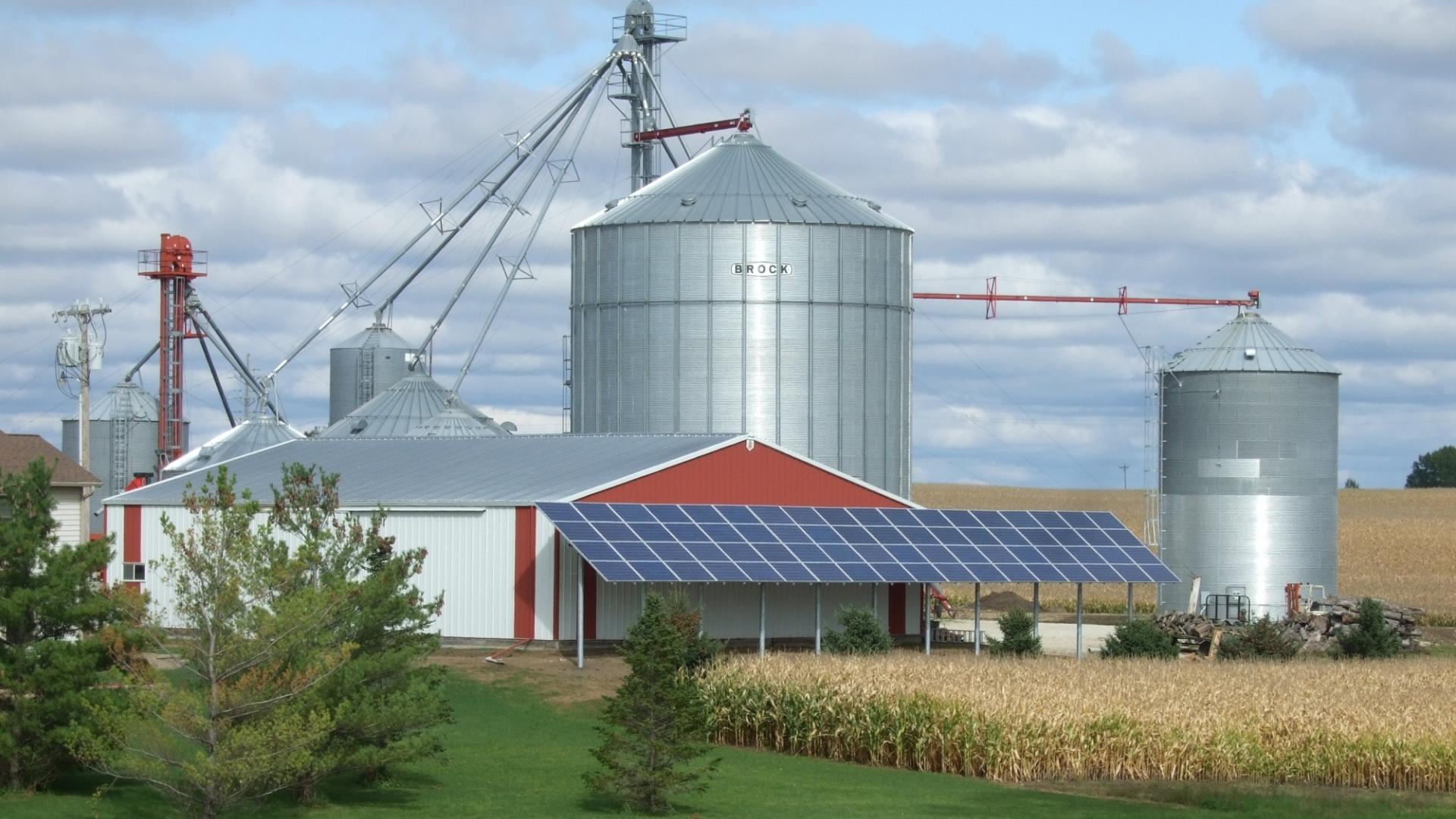 Agrivoltaic For Higher Solar Output